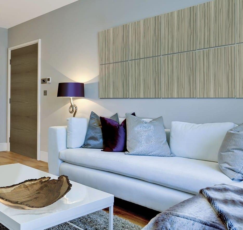 Wandpaneele Als Trend Moderner Wandgestaltung Und Inneneinrichtung_moderne  Wandgestaltung Wohntimmer Mit Wandpaneelen In Holzoptik
