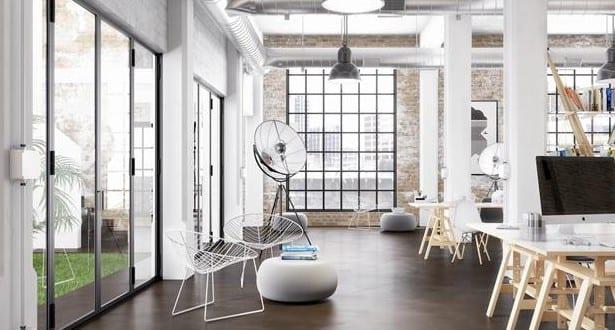 estrich-der fußboden im industrial style für gestaltung von Loft ...