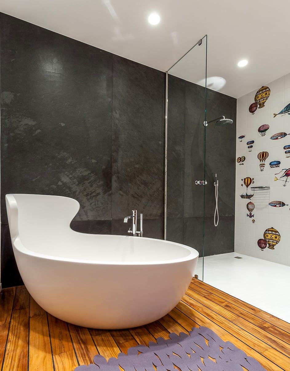 Kleine Und Moderne Badezimmer Mit Badewanne Modernes Bad Mit