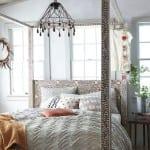 schöner wohnen schlafzimmer ideen für boho chic schlafzimmer