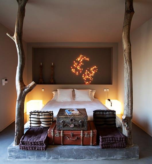 Schlafzimmer Ideen Im Boho Stil_coole Schlafzimmer Gestaltung Mit