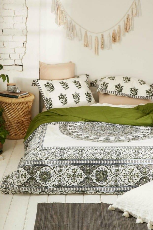 schlafzimmer ideen im boho stil_kleine schlafzimmer gestalten in ...