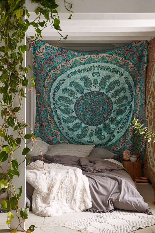 Schlafzimmer Ideen Im Boho Stil_kleine Schlafzimmer Gestalten Und  Einrichten In Bohemian Style