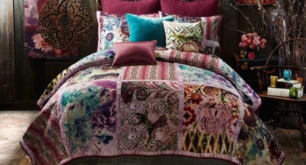 Schlafzimmer ideen im boho stil schlafzimmer dekoration in for Bett dekorieren