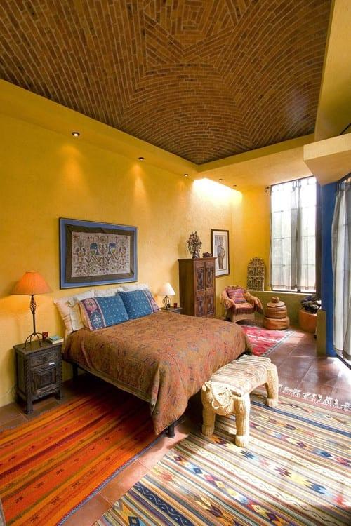 Schon Schlafzimmer Ideen Im Boho Stil_schlafzimmer Streichen Ideen In Gelb