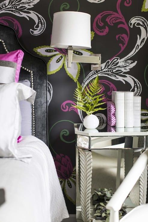Schwarze w nde im schlafzimmer coole wohnideen f r moderne for Raumgestaltung hochzeit