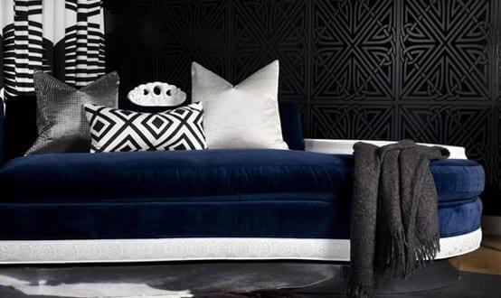 Schwarze Wände – 48 Wohnideen für moderne Raumgestaltung