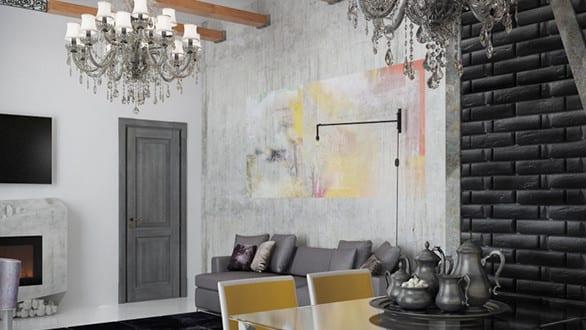 Schwarze Wande Coole Wohnideen Fur Moderne Raumgestaltung Und