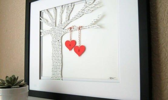Valentinstag Ideen Und Geschenke_Bild Als Valentinstag Geschenk Basteln