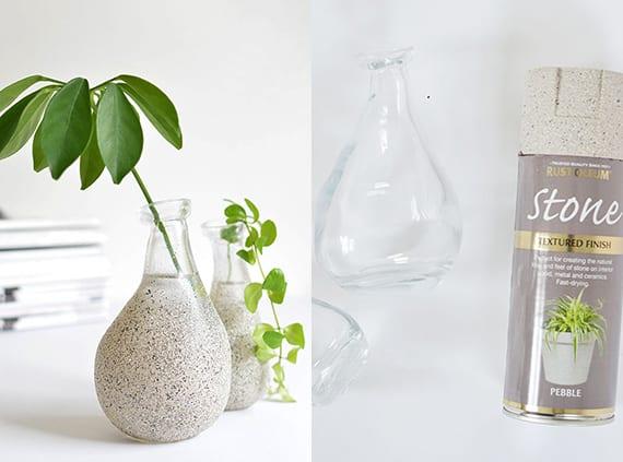 Dekoideen Mit Diy Vase Und Einfache Bastelideen Fur Vase Selber