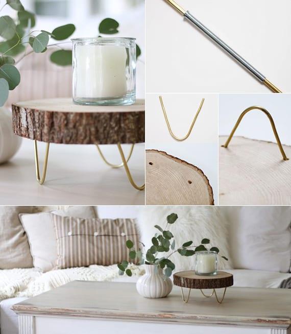 fr hlingsdeko basteln kreative tischdeko fr hling und einfaches basteln von diy untersetzer aus. Black Bedroom Furniture Sets. Home Design Ideas