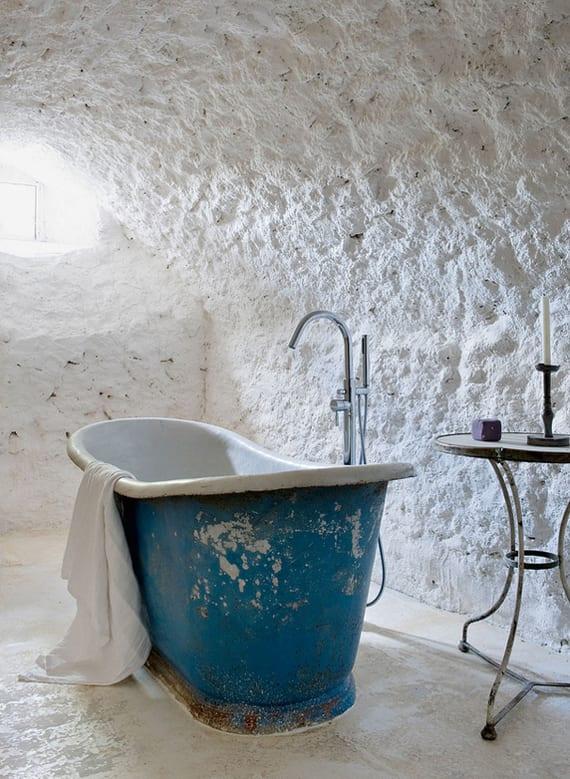Moderne Badezimmer Im Vintage Style_badezimmer Idee Für Vintage