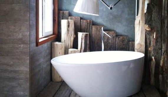 Moderne Badezimmer Im Vintage Style_kleines Badezimmer Ideen Für