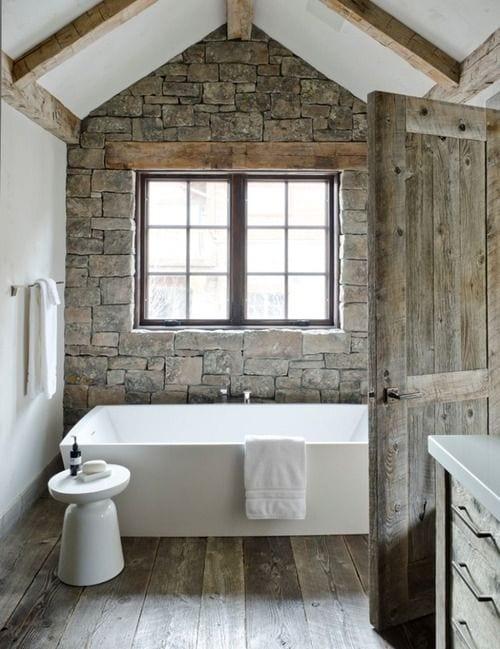 moderne Badezimmer im Vintage Style_kleines badezimmer mit ...