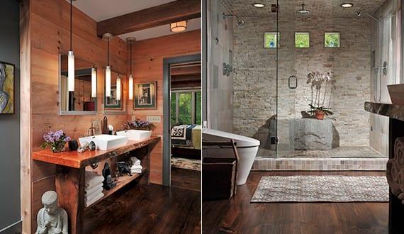 Moderne Duschkabine moderne badezimmer im vintage style mit moderne duschkabine und