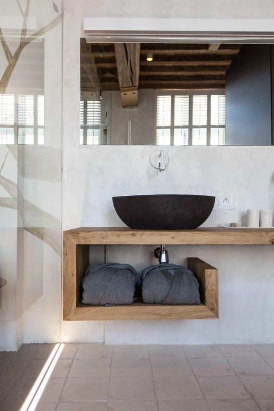 moderne badezimmer im vintage style_badezimmer ideen für ...