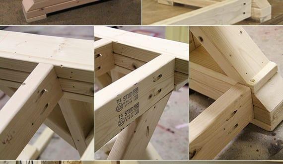schreibtisch selber bauen ideen f r tisch bauen aus holz. Black Bedroom Furniture Sets. Home Design Ideas