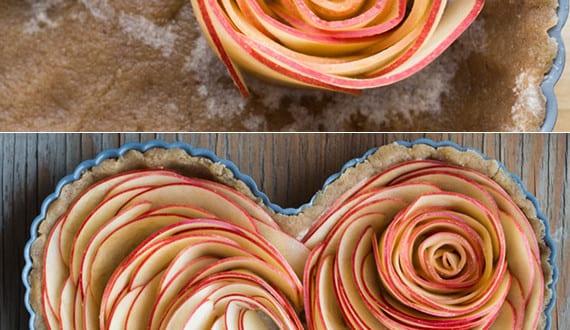 Valentinstag Kuchen Herz Obstkuchen Zum Valentinstag Und Fur
