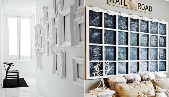 vintage deko ideen in wei f r kreative wandgestaltung im vintage stil freshouse. Black Bedroom Furniture Sets. Home Design Ideas