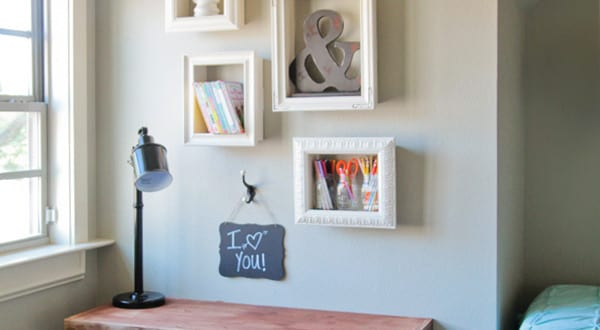 wand gestalten mit diy deko aus bilder rahmen freshouse. Black Bedroom Furniture Sets. Home Design Ideas