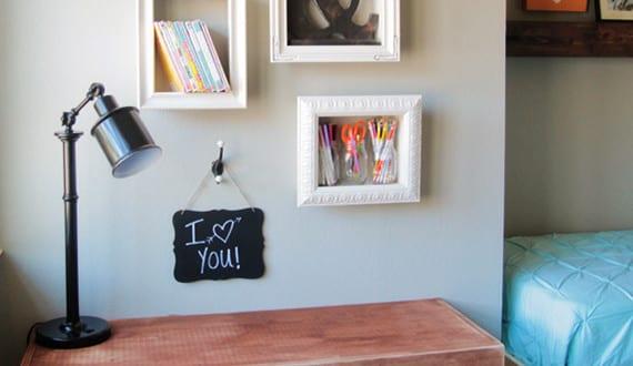 wand gestalten mit bilder rahmen als diy deko freshouse. Black Bedroom Furniture Sets. Home Design Ideas