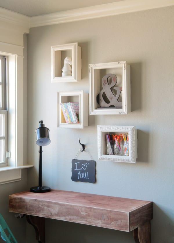 Wand-Gestalten-Mit-Diy-Deko-Aus-Bilder-Rahmen_Kreative