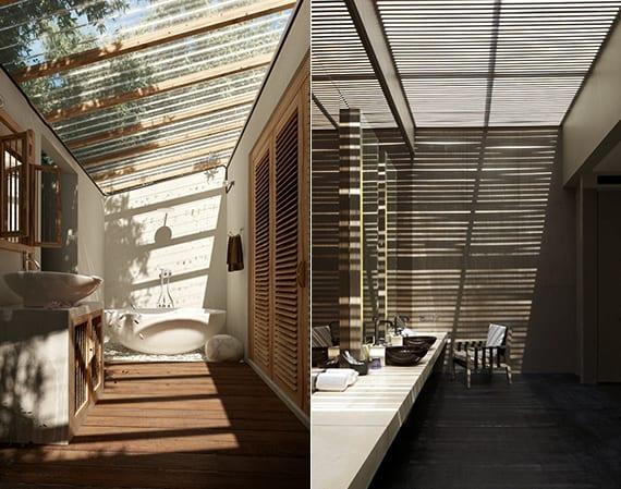 Bad Modern Gestalten Mit Licht Durch Dachverglasung Mit