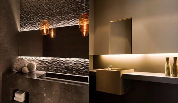 Bad modern gestalten mit licht und 3d wandpaneelen moderne for Jugendzimmer gestalten 3d