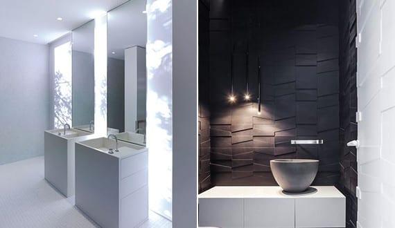 bad modern gestalten mit licht coole badideen f r modernes badezimmer design freshouse. Black Bedroom Furniture Sets. Home Design Ideas