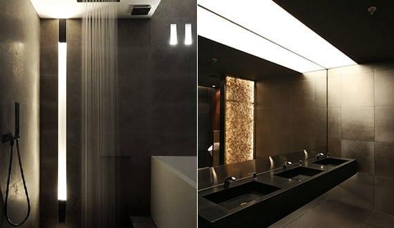 bad modern gestalten mit licht moderne einabauleuchte und kreative lichtkonzepte f r badezimmer. Black Bedroom Furniture Sets. Home Design Ideas