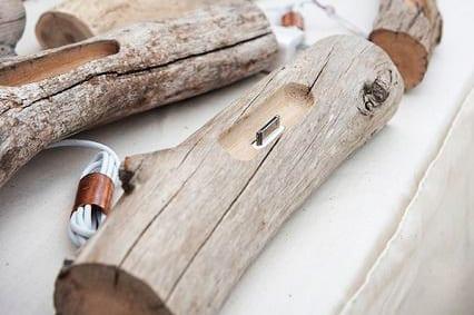 Bastelideen für iDock aus Holz