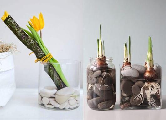besondere dekoideen fr hling moderne fr hlingsdeko mit fr hlingsblumen freshouse. Black Bedroom Furniture Sets. Home Design Ideas