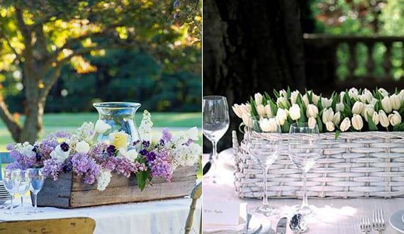 Coole Tischdeko blumendeko hochzeit mit tulpen als coole tischdeko mit tulpen für