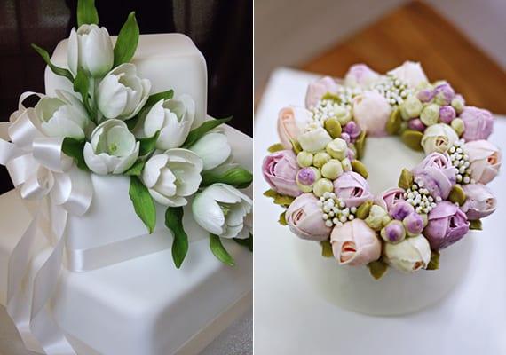 blumendeko hochzeit und hochzeitstorte mit tulpen freshouse. Black Bedroom Furniture Sets. Home Design Ideas
