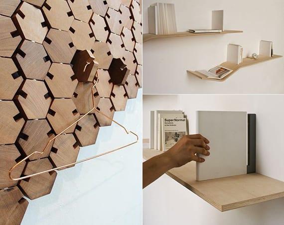 Bücherregal design wand  design-inspiration_die-kleinen-Details-in-Design-moderner-möbel ...
