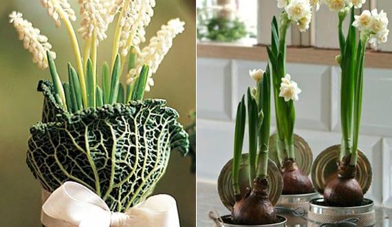 kreative fr hlingsdeko mit fr hlingsblumen fr hlingsdeko. Black Bedroom Furniture Sets. Home Design Ideas