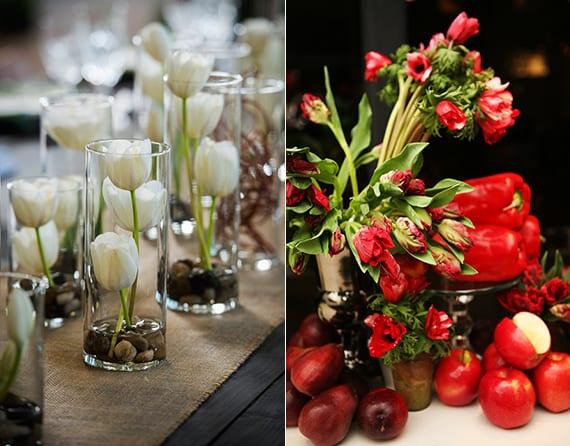 Originelle Und Tolle Blemendeko Hochzeit Mit Tulpen