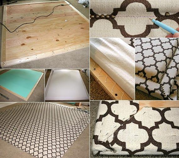 schlafzimmer ideen f r bett kopfteil selber machen als. Black Bedroom Furniture Sets. Home Design Ideas