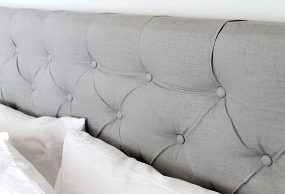 Schlafzimmer Ideen Für Bett Kopfteil Selber Machen_diy Kopfteil