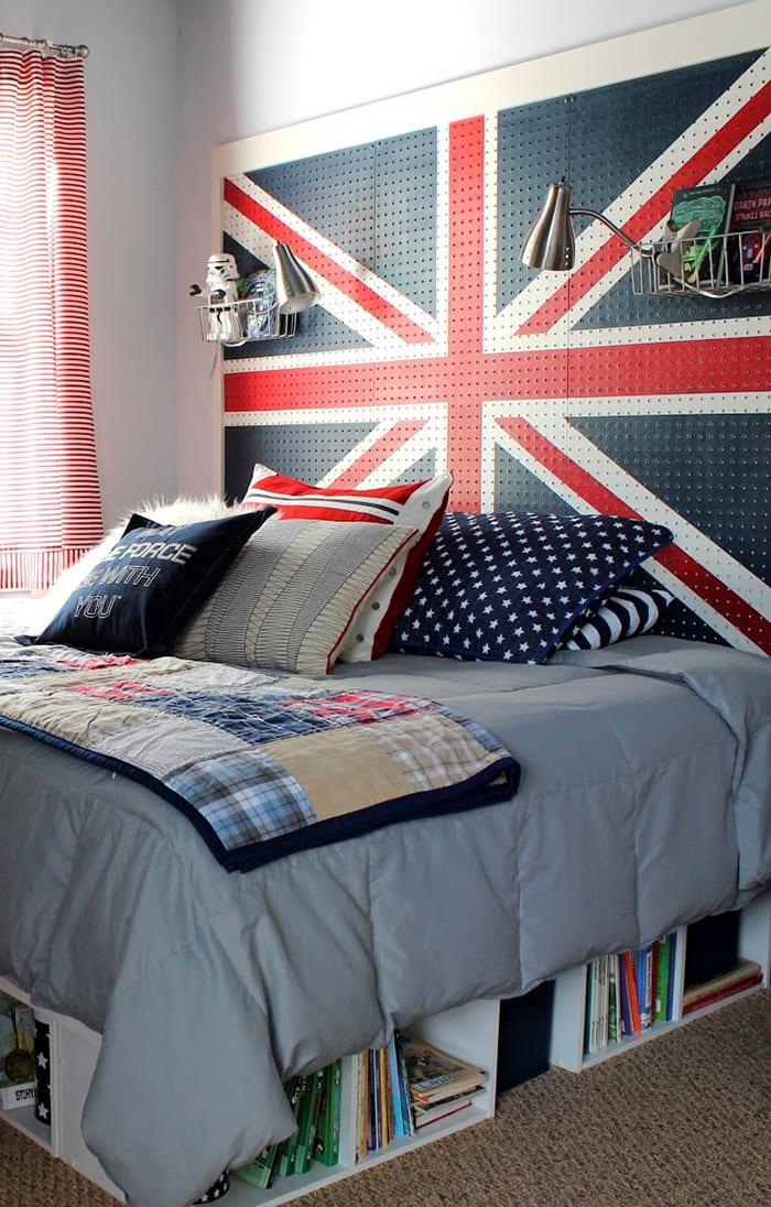 Schlafzimmer Ideen Für Bett Kopfteil Selber Machen_kinderzimmer Inspiration