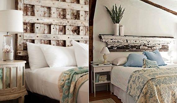 Erstaunlich Schlafzimmer Ideen Für Bett Kopfteil Selber Machen_shabby Chic