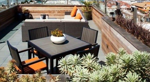 50 coole ideen f r rooftop terrassengestaltung coole gartengestaltung ideen f r dachterrasse mit. Black Bedroom Furniture Sets. Home Design Ideas