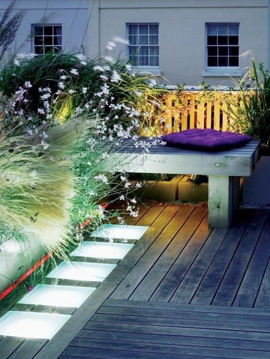 50 coole ideen f r rooftop terrassengestaltung dachterrasse begr nung und beleuchtung mit. Black Bedroom Furniture Sets. Home Design Ideas