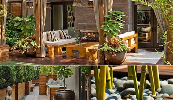 50 coole ideen f r rooftop terrassengestaltung feng shui - Feng shui jugendzimmer ...