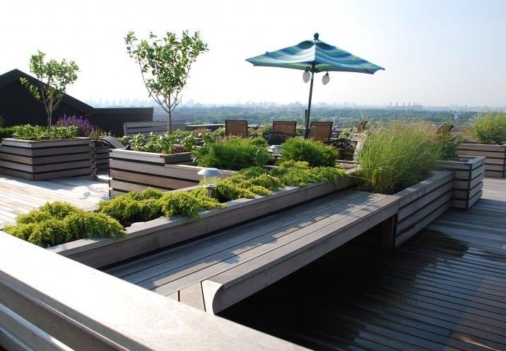 50 coole ideen für rooftop terrassengestaltung_gestalten sie grünes ...