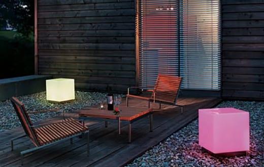 coole laterne basteln f r den garten aus acrylglas freshouse. Black Bedroom Furniture Sets. Home Design Ideas