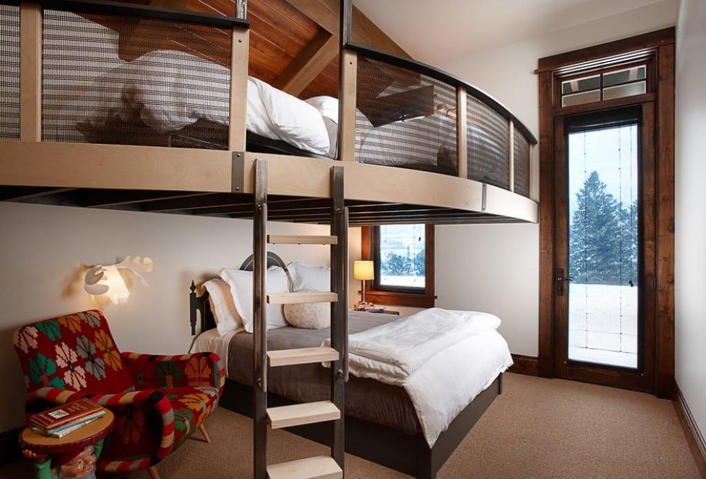 Außergewöhnlich Kleine Wohnung Einrichten Mit Hochhbett Für Zwei Personen_coole  Einrichtungsbeispiele Für Kleine Schlafzimmer