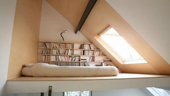 kleine wohnung einrichten mit hochbett_coole idee für jugendzimmer ...