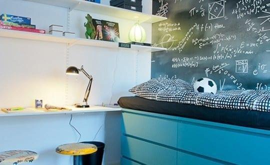 kleine wohnung einrichten mit hochbett coole ideen f r kinderzimmer mit halbhochbett freshouse. Black Bedroom Furniture Sets. Home Design Ideas