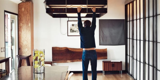 Kleine Wohnung Einrichten Mit Hochbett_einrichtungsbeispiel Für 1 Zimmer  Wohnung Mit Loft Bed Im Wohnesszimmer
